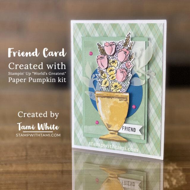 Flower Card Set - Friend Card