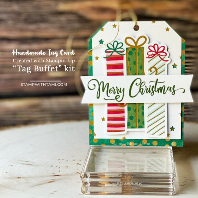 Homemade Tag Cards for gifts