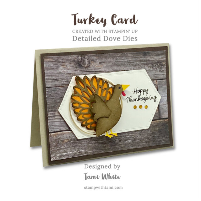 How To Make Thanksgiving Turkey Card