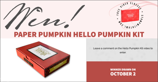 win Hello Pumpkin Kit