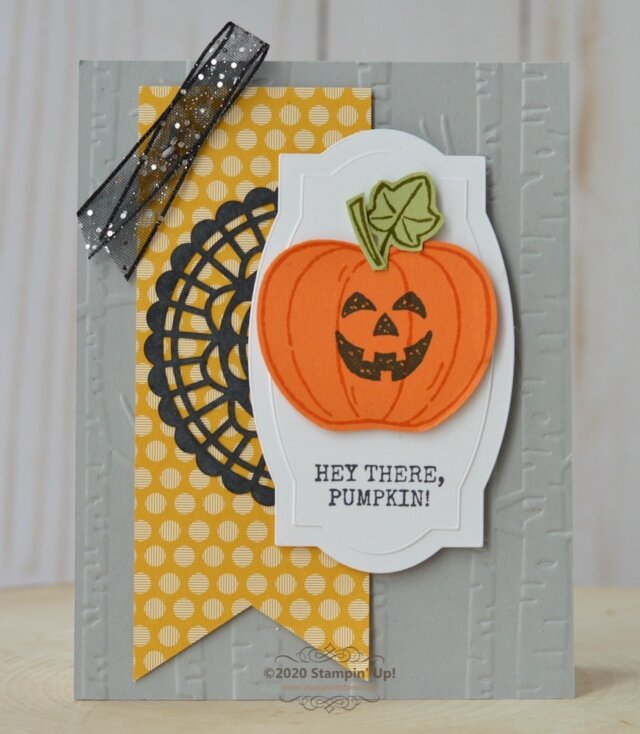 Hey There Pumpkin Card