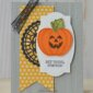 CARD: Hey there pumpkin from the Harvest Hellos stamps