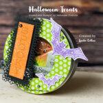 """Spooky"" fun Handmade Halloween Treat Tins"
