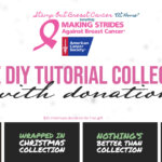 "11th Annual Stamp Out Breast Cancer ""At Home"" Event with 4 Free Tutorial Collections"