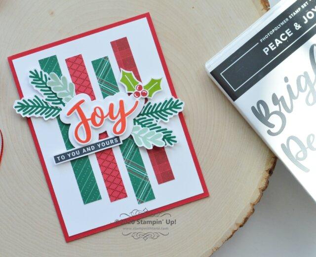 Peace & Joy Bundle Card