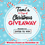 Tami's 10 Days of Christmas Giveaways – November 7-17
