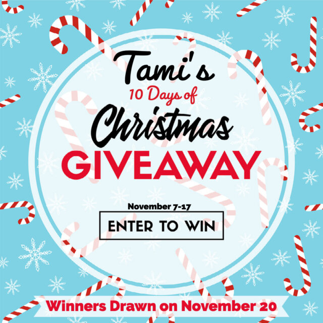 Tami's 10 Days of Christmas Giveaways