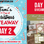 DAY 2 of  10 Days of Christmas Giveaways  – Enter Here