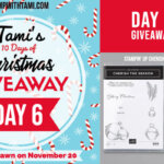 DAY 6 of  10 Days of Christmas Giveaways  – Enter Here