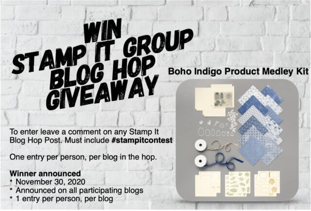 Win Stamp It Group Giveaway
