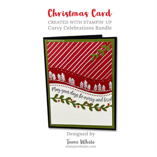 Make A Curvy Christmas Card
