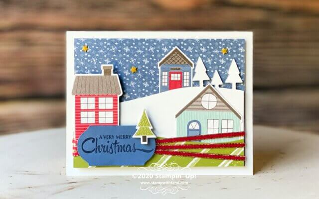 Designer Paper Fun - A Very Merry Christmas