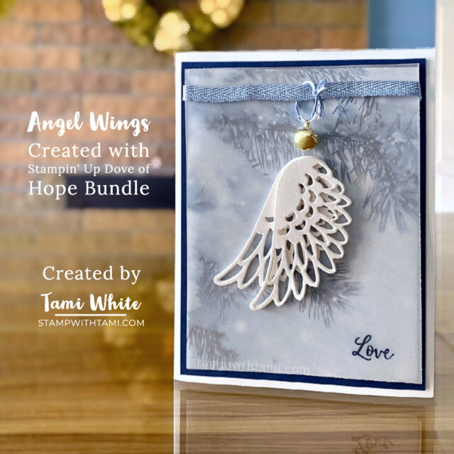 Angel Wings Card Created by Tami