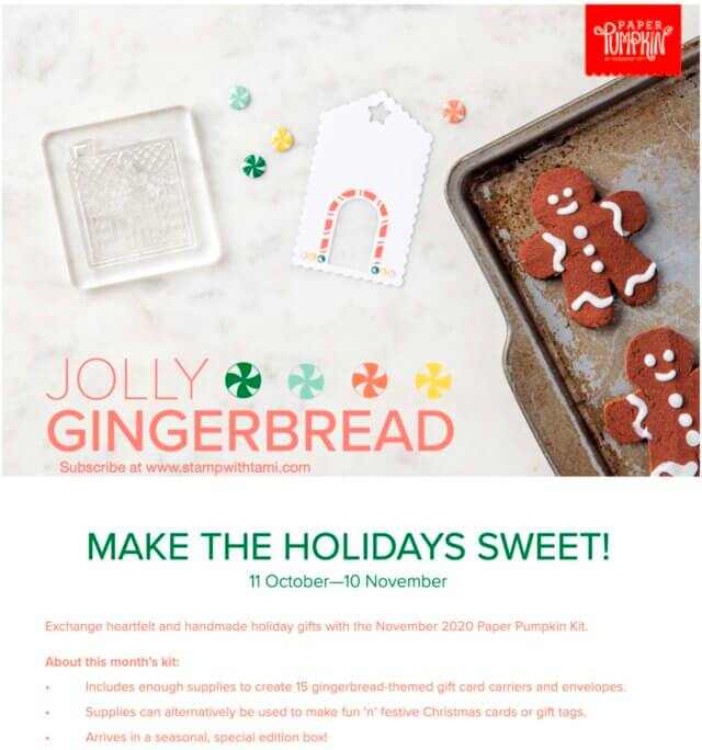 Jolly Gingerbread Kit