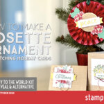 VIDEO: How to turn the Joy to the World Kit into a Rosette Ornament