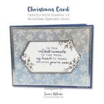 CARD: Snowflake Splendor Holiday Card