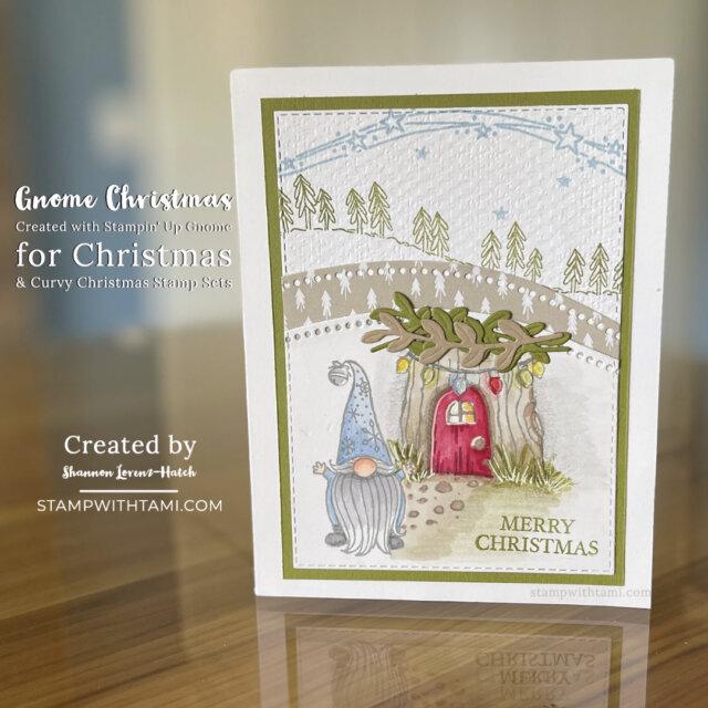 Gnome Christmas Card