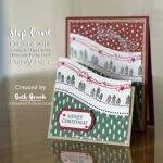 CARD: Curvy Christmas Step Card