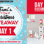DAY 1 of  10 Days of Christmas Giveaways  – Enter Here