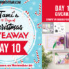 DAY 10 of  10 Days of Christmas Giveaways  – Enter Here
