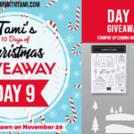 DAY 9 of  10 Days of Christmas Giveaways  – Enter Here