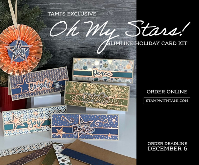 Oh My Stars Slimline Card Kit