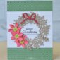 Merry Christmas card from the Arrange a Wreath Bundle