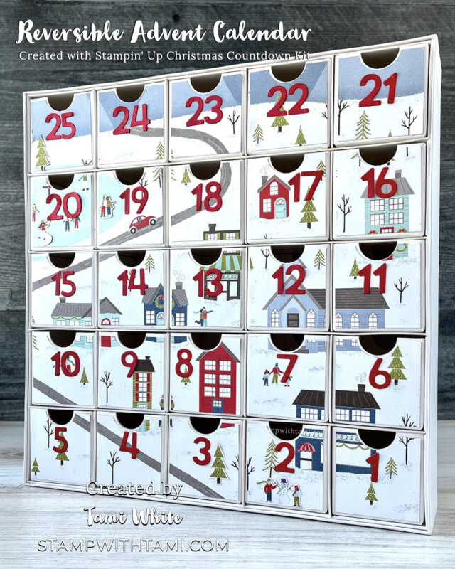 Reversible Advent Calendars