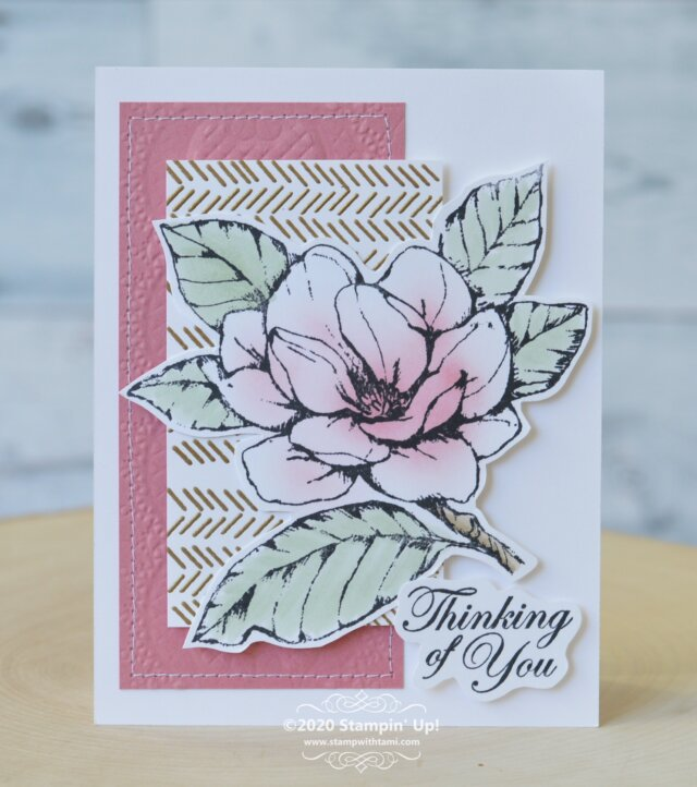 Stampin Up sympathy card