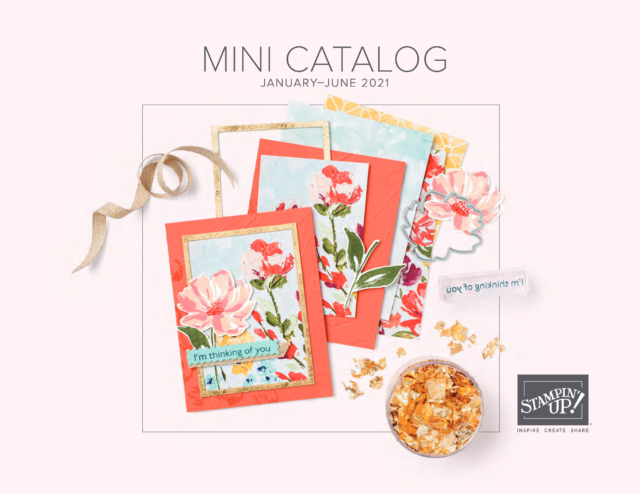 2021 Stampin' Up January-June Catalog  preview video.