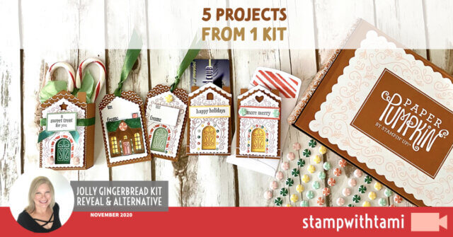 November Paper Pumpkin kit
