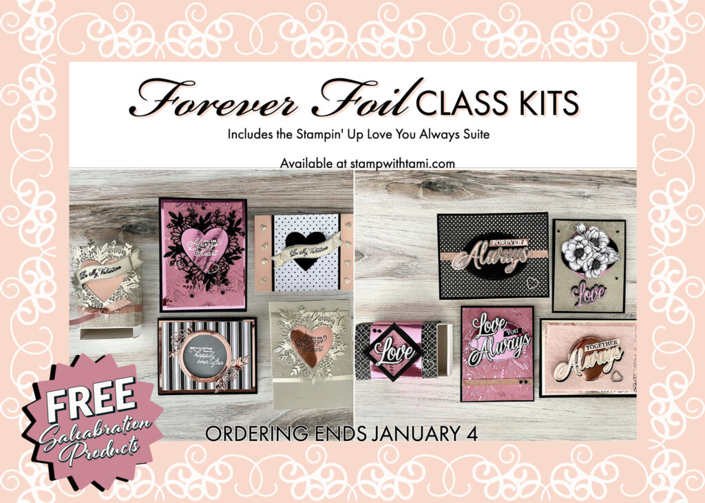 Stampin Up Valentines Gift Sets
