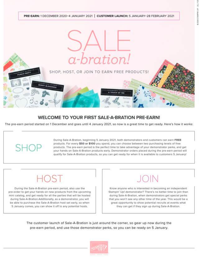 Shop 2021 Catalog & Sale-a-bration