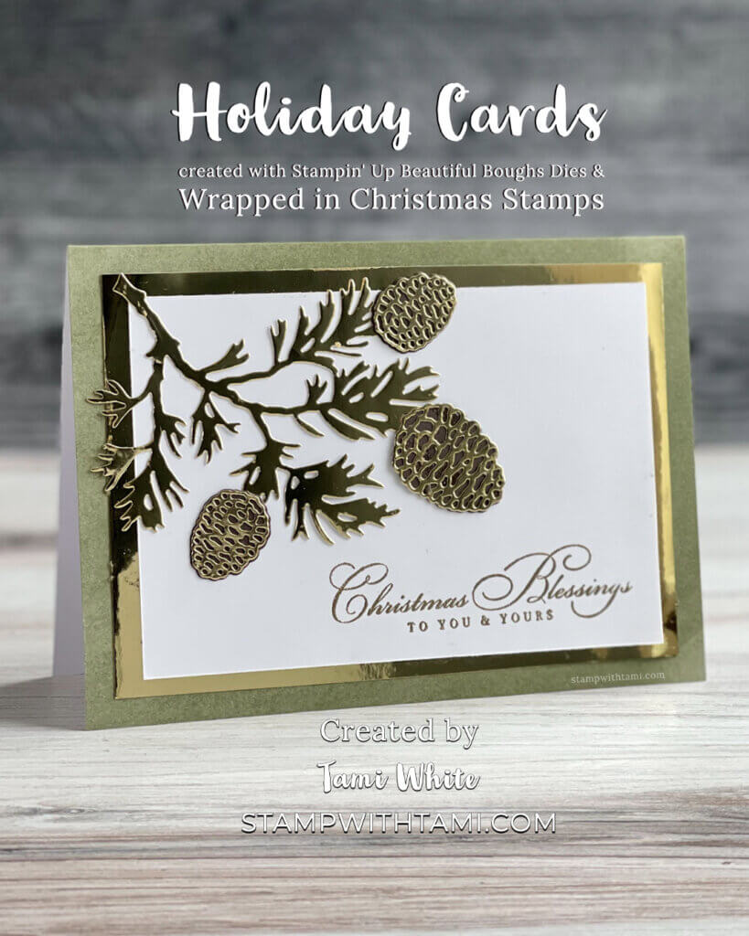 Stampin' Up! Holiday Cards
