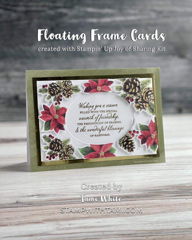 Floating Frame Cards