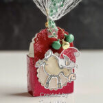Stampin Up Holiday Treat Boxes Dominick the Donkey