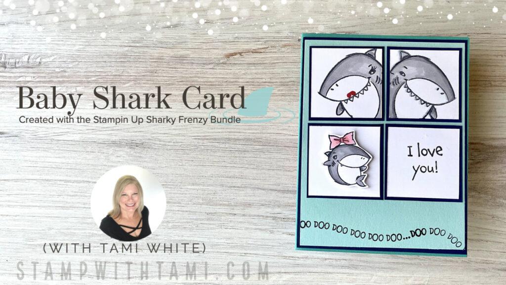 Baby Shark Family Photo Card
