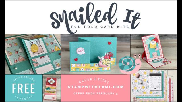 Snailed it fun Fold Card Kits