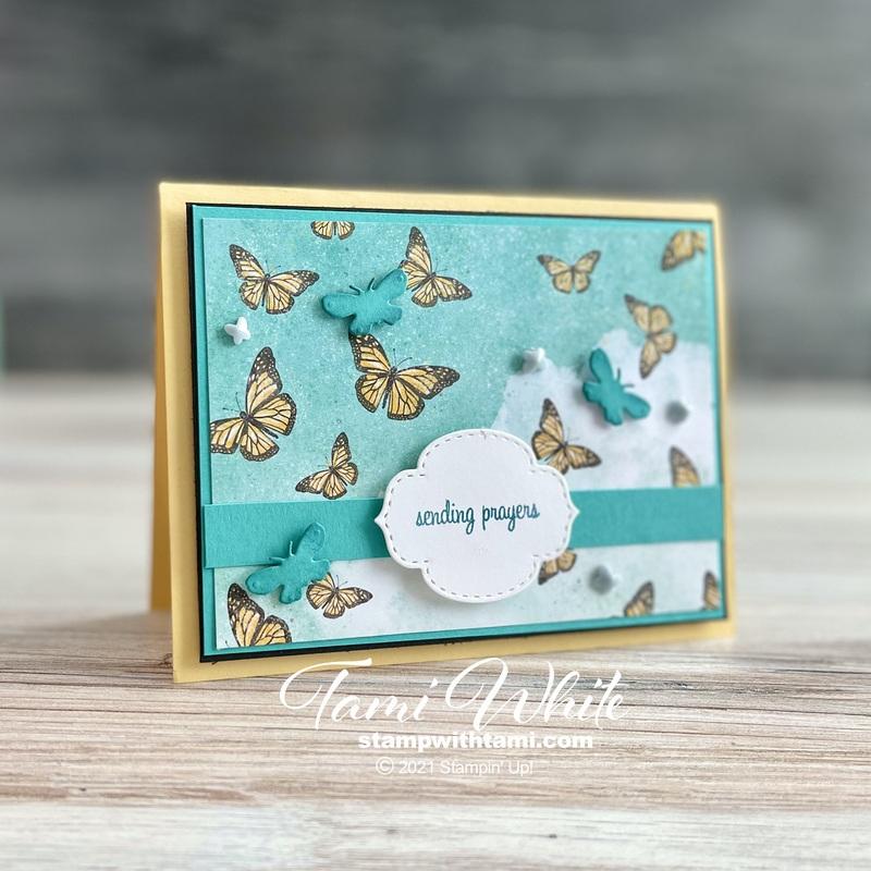 Butterfly Bijou Card