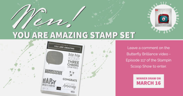 Stampin Up Giveaway