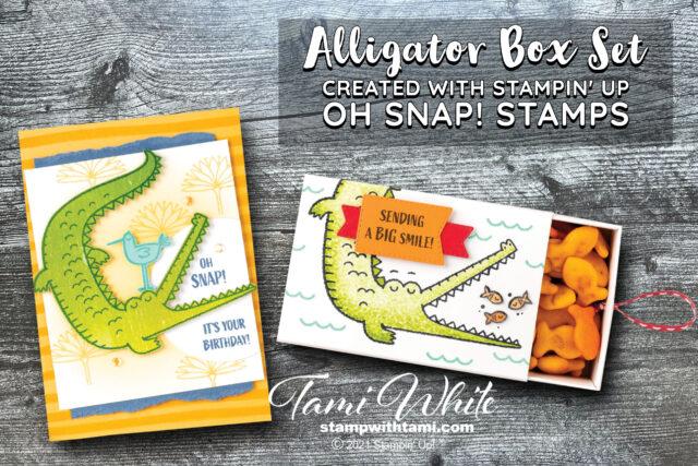 Oh Snap Card & Treat Box Tutorial