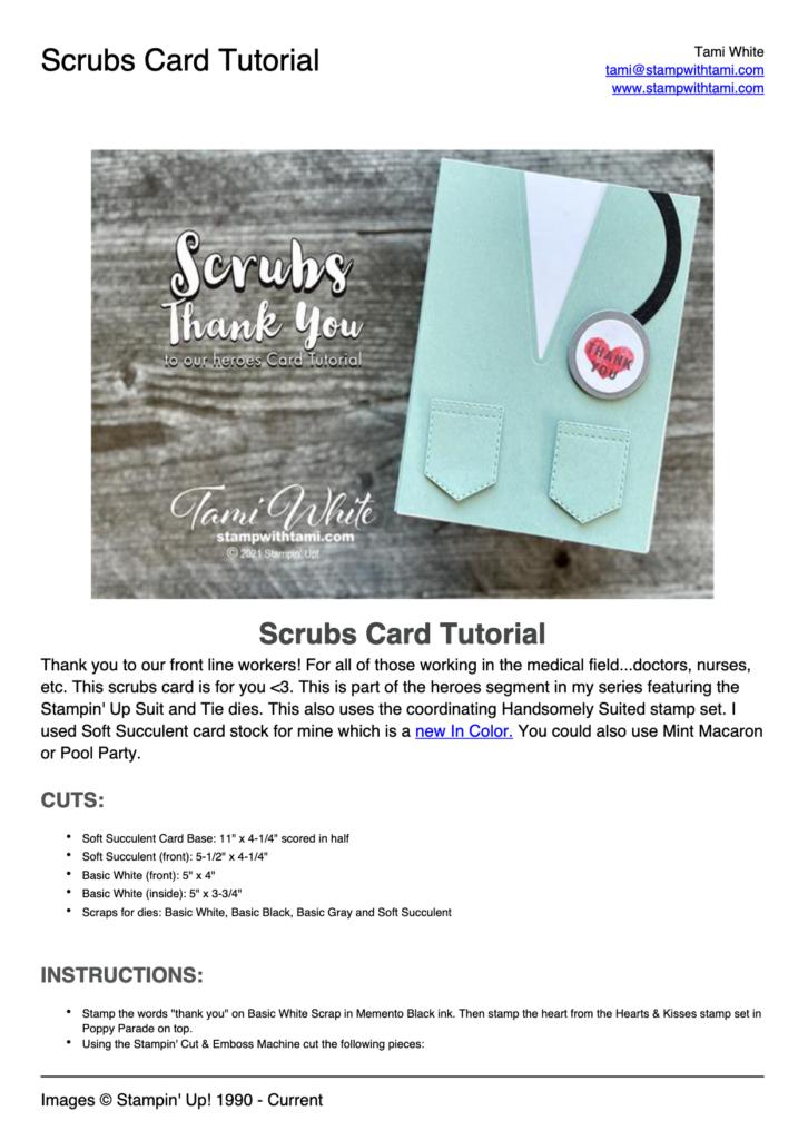 Scrubs Hero Card pdf