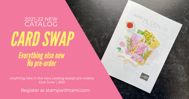 2021-2022 New Catalog Card Swap
