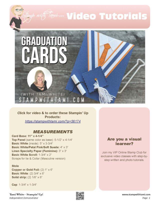 Graduation Cap & Gown Cards pdf