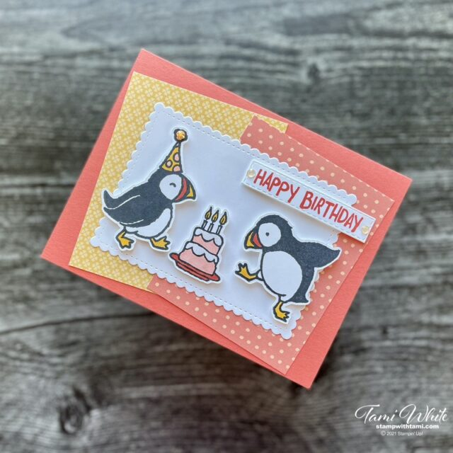 Party Puffins Card