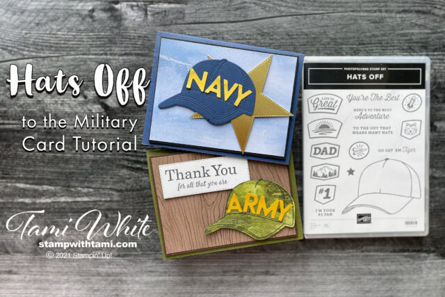 Hats Off Military Card