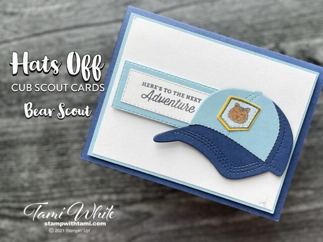 Hats Off Cub Scouts Card