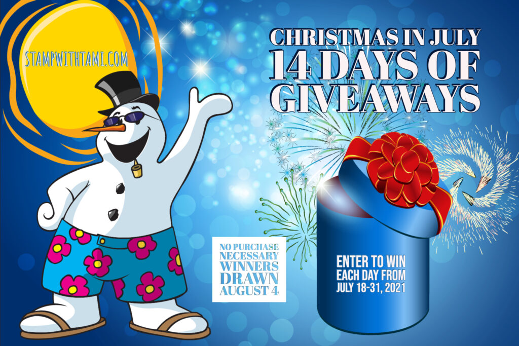 Christmas in July - 14 Days of Giveaways