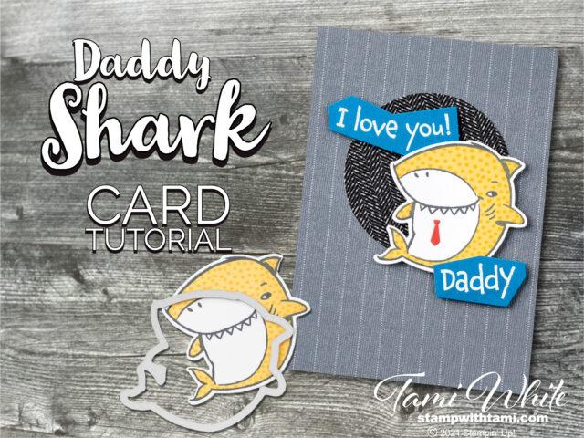 Daddy shark card tutorial