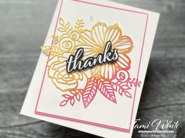 Expressions in ink cards